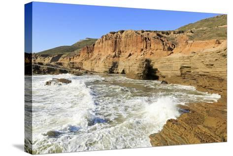 Coastline in Cabrillo National Monument-Richard Cummins-Stretched Canvas Print