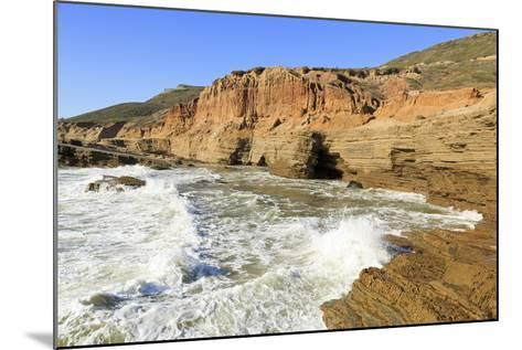Coastline in Cabrillo National Monument-Richard Cummins-Mounted Photographic Print