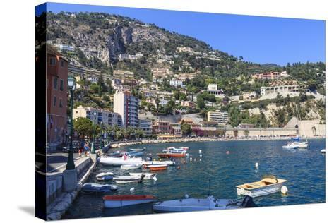 Villefranche-Sur-Mer, Alpes Maritimes, Provence, Cote D'Azur, French Riviera, France, Europe-Amanda Hall-Stretched Canvas Print