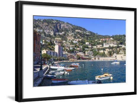 Villefranche-Sur-Mer, Alpes Maritimes, Provence, Cote D'Azur, French Riviera, France, Europe-Amanda Hall-Framed Art Print