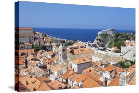 Old Town, UNESCO World Heritage Site, Dubrovnik, Dalmatia, Croatia, Europe-Markus Lange-Stretched Canvas Print