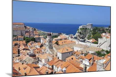Old Town, UNESCO World Heritage Site, Dubrovnik, Dalmatia, Croatia, Europe-Markus Lange-Mounted Photographic Print