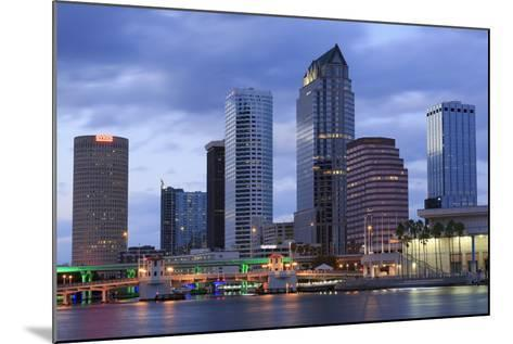 Tampa Skyline, Florida, United States of America, North America-Richard Cummins-Mounted Photographic Print