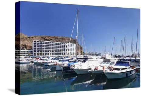 Marina, Puerto Rico, Gran Canaria, Canary Islands, Spain, Atlantic, Europe-Markus Lange-Stretched Canvas Print