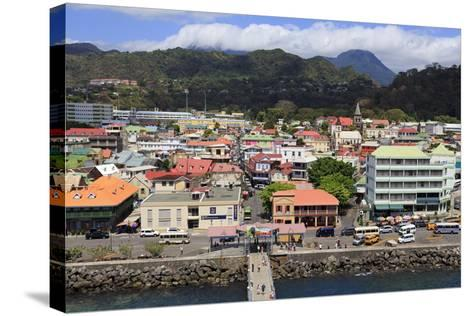 Downtown Roseau, Dominica, Windward Islands, West Indies, Caribbean, Central America-Richard Cummins-Stretched Canvas Print