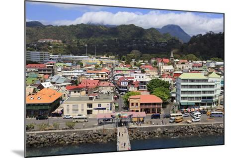 Downtown Roseau, Dominica, Windward Islands, West Indies, Caribbean, Central America-Richard Cummins-Mounted Photographic Print