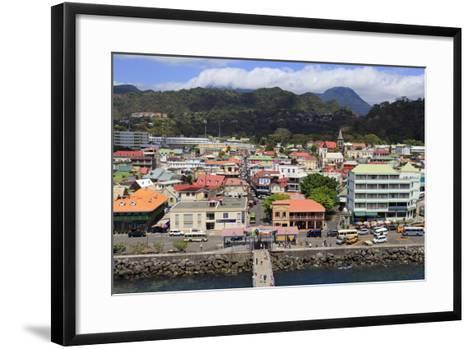 Downtown Roseau, Dominica, Windward Islands, West Indies, Caribbean, Central America-Richard Cummins-Framed Art Print