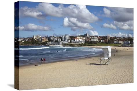 Bondi Beach, Sydney, New South Wales, Australia, Pacific-Mark Mawson-Stretched Canvas Print