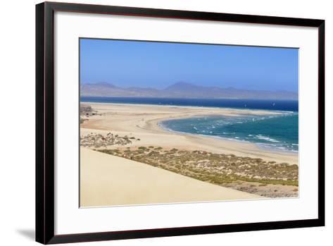Dunes at Playa De Sotavento-Markus Lange-Framed Art Print