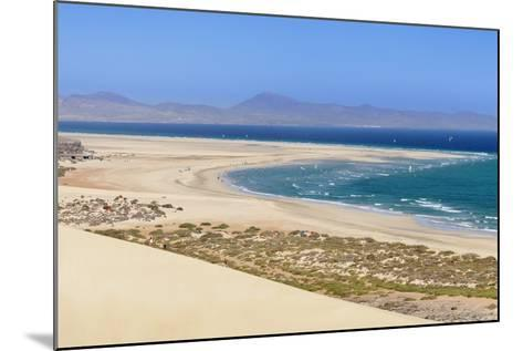 Dunes at Playa De Sotavento-Markus Lange-Mounted Photographic Print