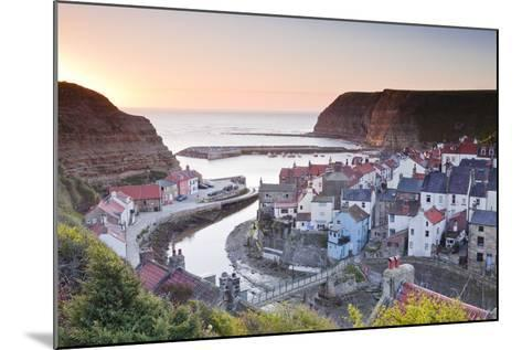 The Fishing Village of Staithes in the North York Moors-Julian Elliott-Mounted Photographic Print