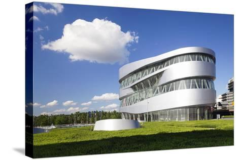 Mercedes Benz Museum, Stuttgart, Baden Wurttemberg, Germany, Europe-Markus Lange-Stretched Canvas Print