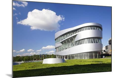Mercedes Benz Museum, Stuttgart, Baden Wurttemberg, Germany, Europe-Markus Lange-Mounted Photographic Print