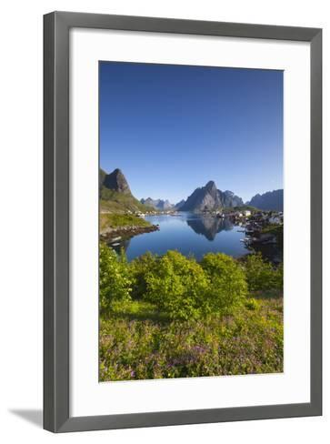 The Picturesque Fishing Village of Reine-Doug Pearson-Framed Art Print