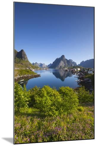 The Picturesque Fishing Village of Reine-Doug Pearson-Mounted Photographic Print