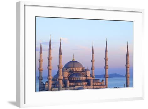 Blue Mosque (Sultan Ahmet Camii), Istanbul, Turkey-Neil Farrin-Framed Art Print