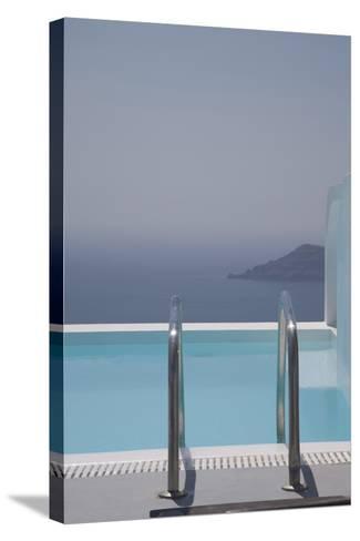 Oia, Santorini (Thira), Cyclades, Greek Islands, Greece, Europe-Angelo Cavalli-Stretched Canvas Print