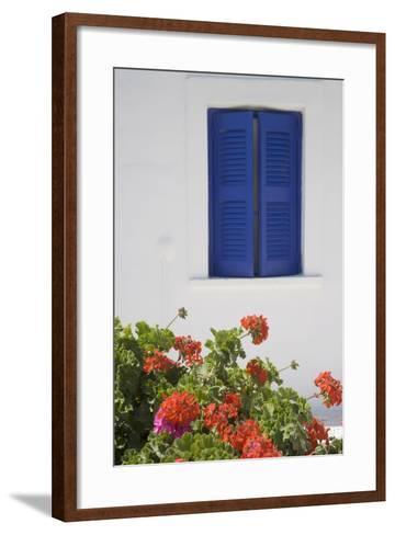 Oia, Santorini (Thira), Cyclades, Greek Islands, Greece, Europe-Angelo Cavalli-Framed Art Print