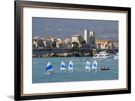 View of Old Town and Bay-Stuart Black-Framed Art Print
