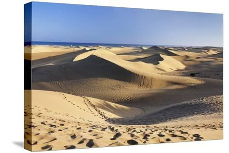 Sand Dunes of Maspalomas, Maspalomas, Gran Canaria, Canary Islands, Spain, Atlantic, Europe-Markus Lange-Stretched Canvas Print
