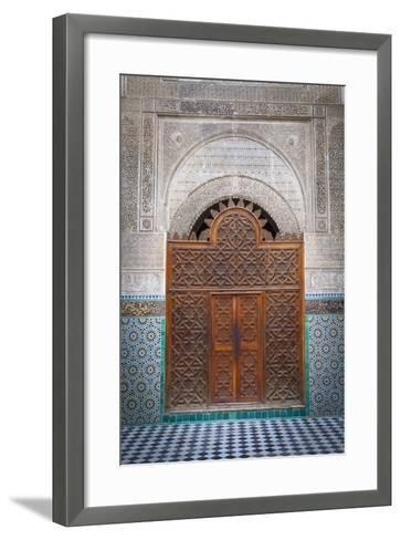 The Ornate Interior Of Madersa Bou Inania Photographic Print By Doug