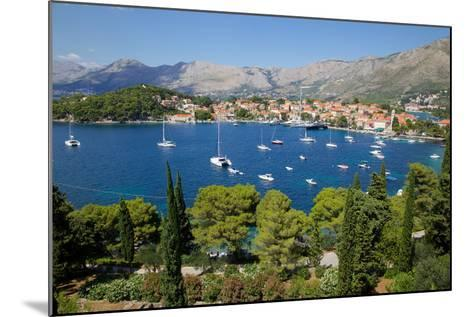 View of Old Town and Adriatic Coast-Frank Fell-Mounted Photographic Print