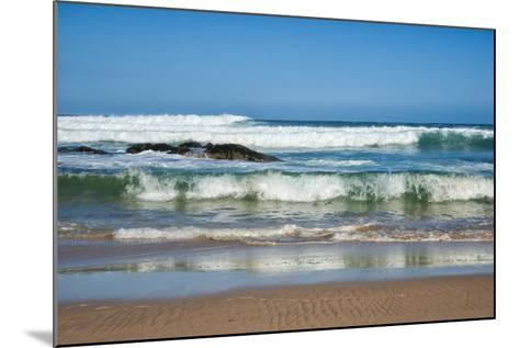 Waves Crashing Ashore from Indian Ocean-Kim Walker-Mounted Photographic Print
