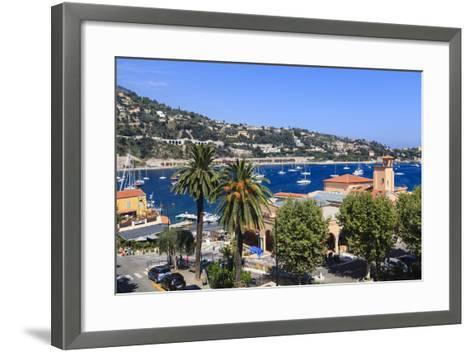 Villefranche-Sur-Mer-Amanda Hall-Framed Art Print