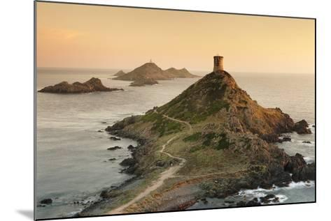 Tour De La Parata and the Islands of Iles Sanguinaires, Corsica, France, Mediterranean, Europe-Markus Lange-Mounted Photographic Print