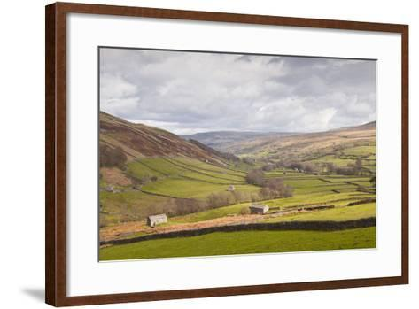 Swaledale in the Yorkshire Dales National Park, Yorkshire, England, United Kingdom, Europe-Julian Elliott-Framed Art Print