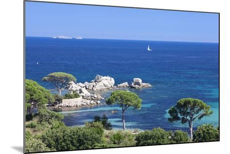 Beach of Palombaggia, Corsica, France, Mediterranean, Europe-Markus Lange-Mounted Photographic Print