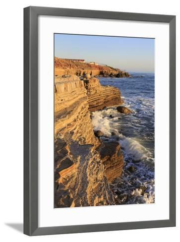 Coastline in Cabrillo National Monument-Richard Cummins-Framed Art Print