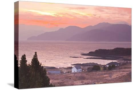 The Sound of Sleat During Sunrise from the Isle of Skye-Julian Elliott-Stretched Canvas Print