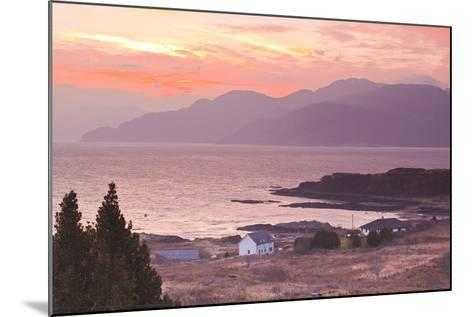 The Sound of Sleat During Sunrise from the Isle of Skye-Julian Elliott-Mounted Photographic Print