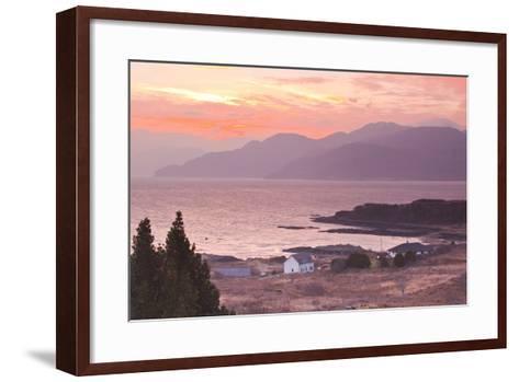 The Sound of Sleat During Sunrise from the Isle of Skye-Julian Elliott-Framed Art Print