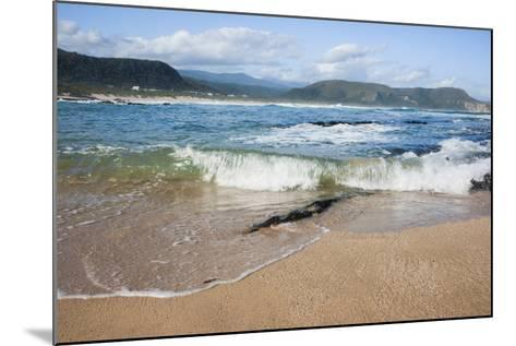 Waves Crashing Ashore at Nature Valley Beach-Kim Walker-Mounted Photographic Print