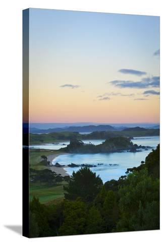 Idyllic Coastal Landscape Near Whangarei, Northland, North Island, New Zealand, Pacific-Doug Pearson-Stretched Canvas Print