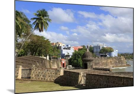 City Walls in Old San Juan, Puerto Rico, West Indies, Caribbean, Central America-Richard Cummins-Mounted Photographic Print