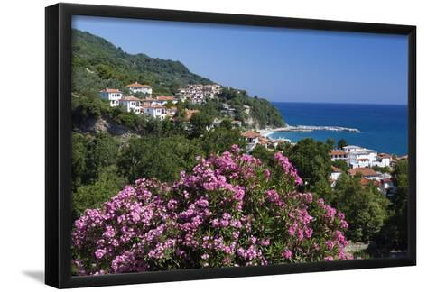 View over Resort, Agios Ioannis, Pelion Peninsula, Thessaly, Greece, Europe-Stuart Black-Framed Art Print