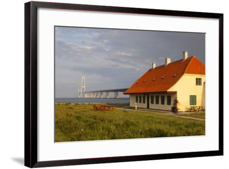 Nyborg-Korsor Bridge, Korsor, Southern Denmark, Denmark, Scandinavia, Europe-Doug Pearson-Framed Art Print