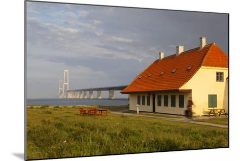 Nyborg-Korsor Bridge, Korsor, Southern Denmark, Denmark, Scandinavia, Europe-Doug Pearson-Mounted Photographic Print