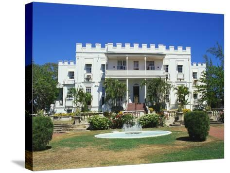 Sam Lords Castle Holiday Resort, Barbados, Caribbean-Hans Peter Merten-Stretched Canvas Print