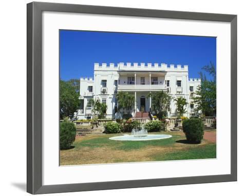 Sam Lords Castle Holiday Resort, Barbados, Caribbean-Hans Peter Merten-Framed Art Print