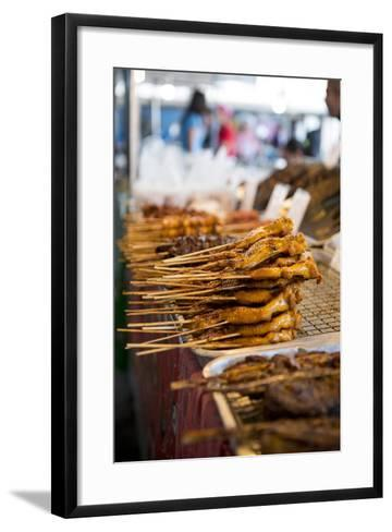 Market, Lamai, Ko Samui Island, Surat Thani, Thailand, Southeast Asia, Asia-Ben Pipe-Framed Art Print