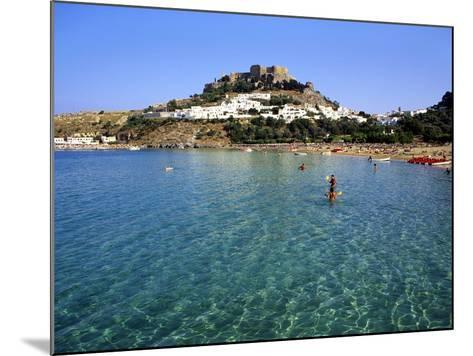 Lindos, Rhodes, Greece, Europe-Fraser Hall-Mounted Photographic Print