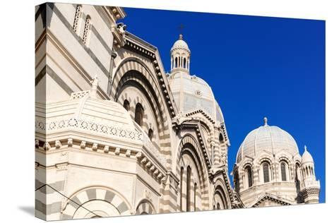 Cathedral of Marseille (Notre-Dame De La Major) (Sainte-Marie-Majeure)-Nico Tondini-Stretched Canvas Print