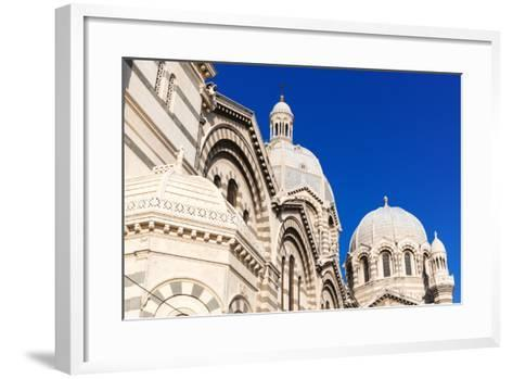 Cathedral of Marseille (Notre-Dame De La Major) (Sainte-Marie-Majeure)-Nico Tondini-Framed Art Print