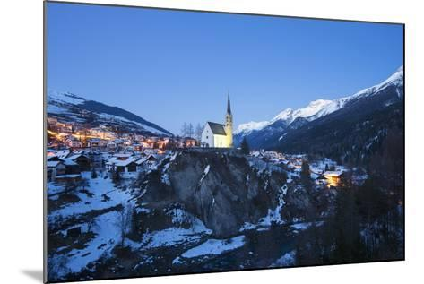 Scuol, Graubunden, Swiss Alps, Switzerland, Europe-Christian Kober-Mounted Photographic Print