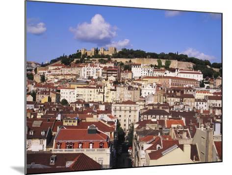 Cityscape of Lisbon and Castelo De Sao Jorge, Portugal-Jeremy Lightfoot-Mounted Photographic Print