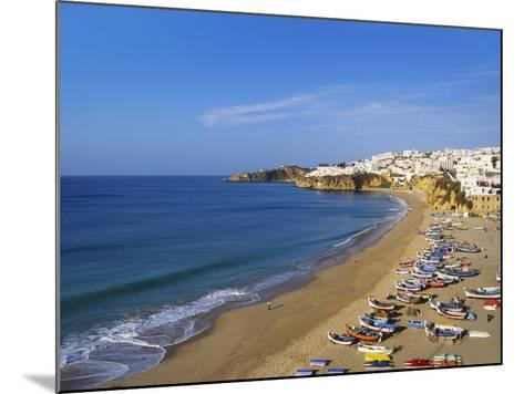 Sailboats on the Coast of Albufera, Algarve, Portugal-Jeremy Lightfoot-Mounted Photographic Print
